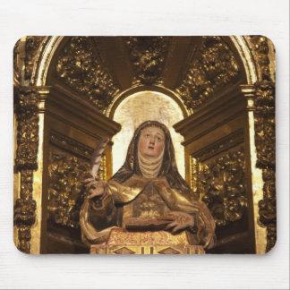 Religious art representing Santa Teresa 2 Mouse Pad