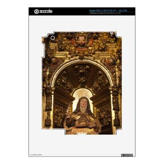 Religious art representing Santa Teresa 2 Skins For iPad 3