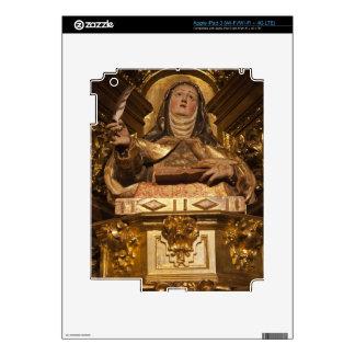 Religious art representing Santa Teresa Skins For iPad 3