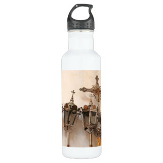 Religious artifacts water bottle