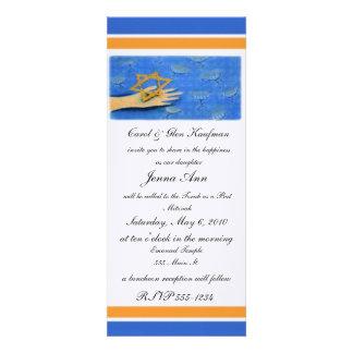 Religious Bar Mitzvah Bat Mitzvah Invitation