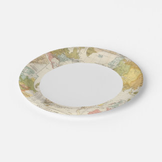 Religious belief paper plate