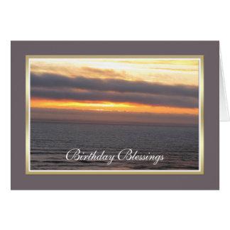 Religious Birthday Card -- Religious Blessing