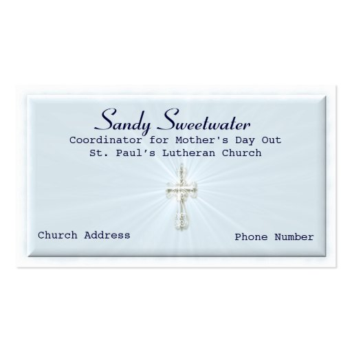 religious business card template zazzle