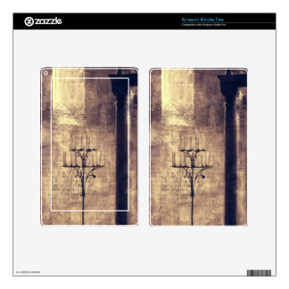 religious candle Castle catholic church cathedral Decal For Kindle Fire