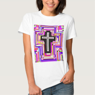 religious christian cross tee shirt