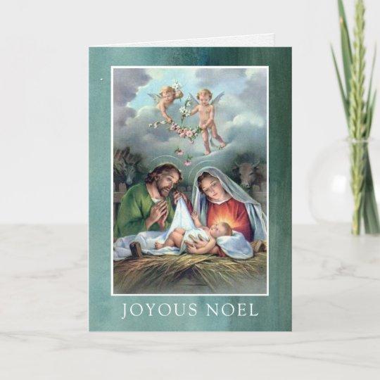Beautiful Religious Christmas Cards.Religious Christmas Cards Joyous Noel