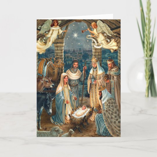Beautiful Religious Christmas Cards.Religious Christmas Cards Nativity 1