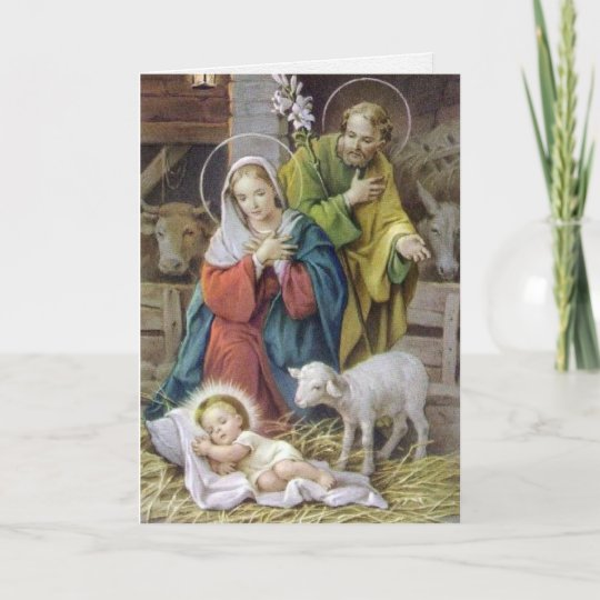 Beautiful Religious Christmas Cards.Religious Christmas Cards The Holy Family