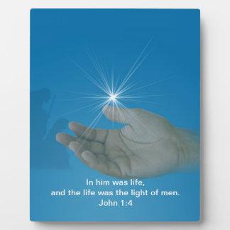 Religious Christmas Plaque Customizable