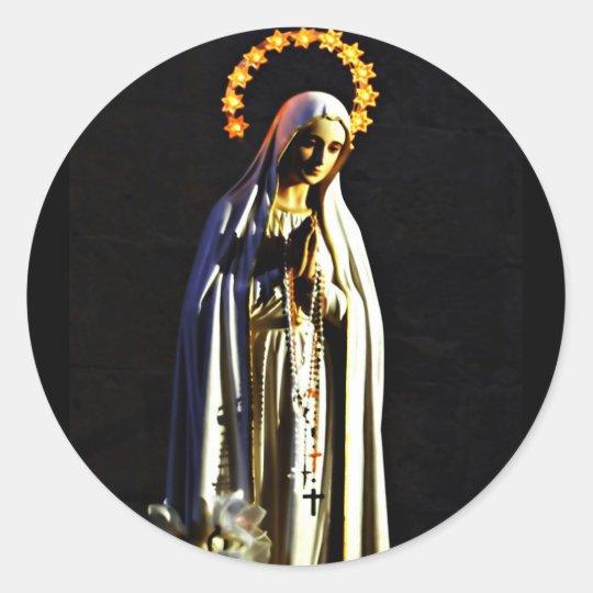 Religious Christmas sticker