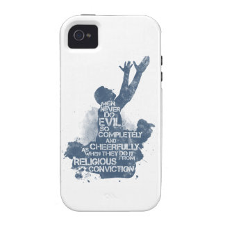 Religious Conviction Vibe iPhone 4 Covers