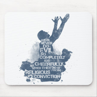 Religious Conviction Mouse Pad