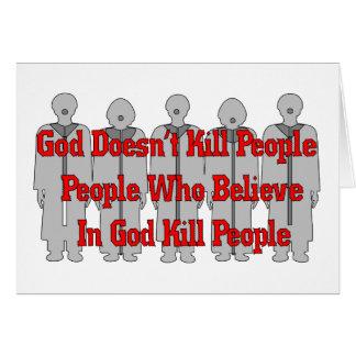 Religious Crazies Card