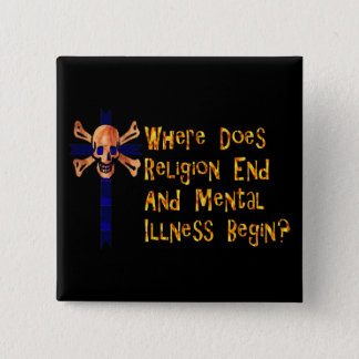 Religious Crazies Pinback Button