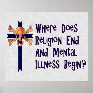 Religious Crazies print