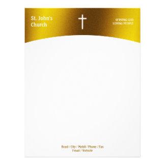 Religious Cross | Christian Letterhead