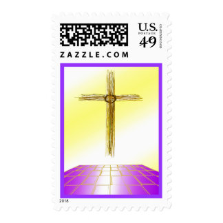 Religious Cross Postage Stamps