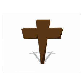 Religious Cross Postcard