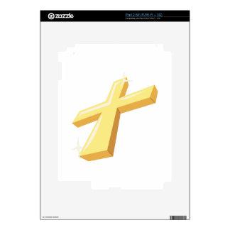 Religious Cross Skin For iPad 2