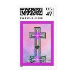 Religious Cross Spiritual Postage Stamps