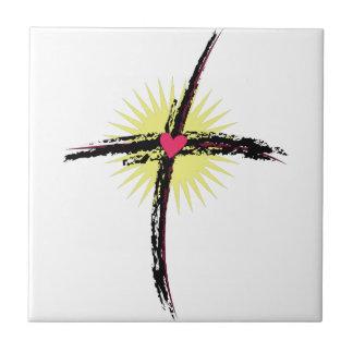 Religious Cross Tile