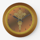 Religious Cross Wall Clock