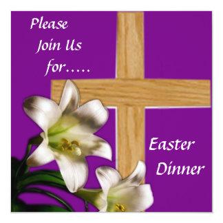 Religious Easter Dinner Invitation