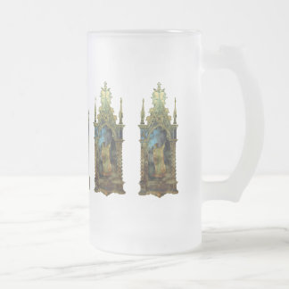 Religious Easter Icon Frosted Glass Beer Mug
