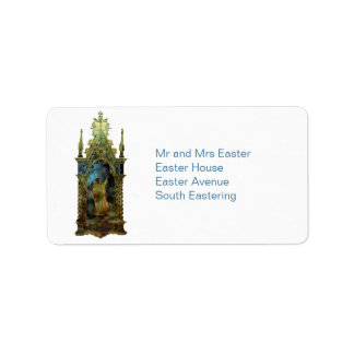 Religious Easter Icon Personalized Address Labels