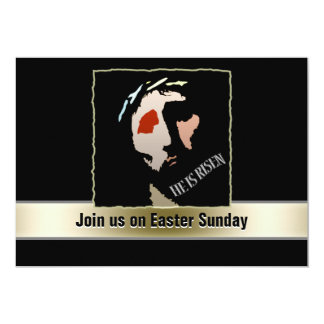 Religious Easter Jesus Bible Verse Quote Risen Card