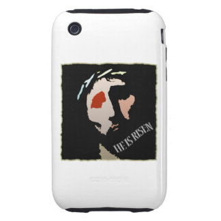 Religious Easter Jesus Bible Verse Quote Risen iPhone 3 Tough Cover