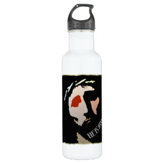 Religious Easter Jesus Bible Verse Quote Risen Stainless Steel Water Bottle