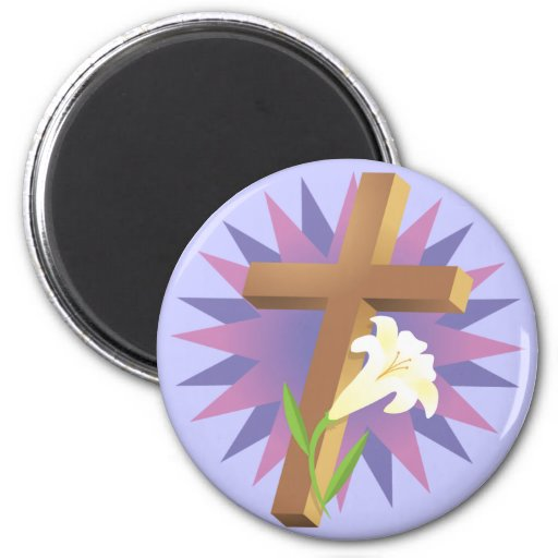Religious Easter T shirts and Gifts Refrigerator Magnets