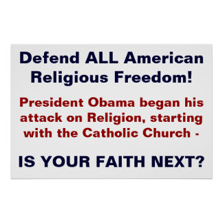 Religious Freedom Poster