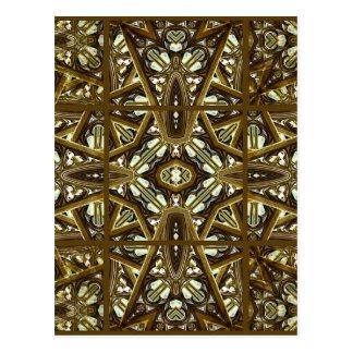 Religious Glass Artwork Mockup Postcard