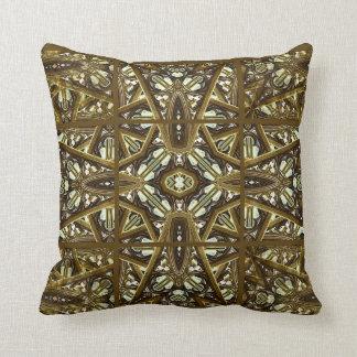 Religious Glass Artwork Mockup Throw Pillow