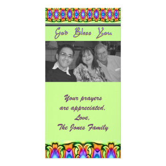 religious God Bless You Card