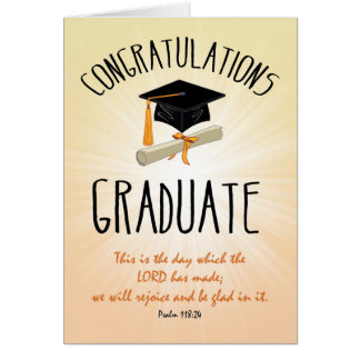 Gold Graduation Greeting Cards | Zazzle