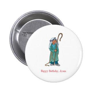 RELIGIOUS Happy Birthday Jesus Shepherd Pins