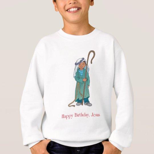 RELIGIOUS: Happy Birthday Jesus Shepherd Sweatshirt