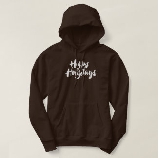 Religious Happy Holydays Holidays Lettering Holy Hoodie