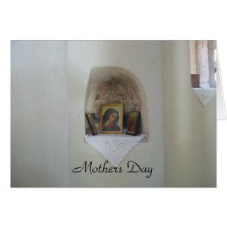 Religious Icon  Mothers Day Card