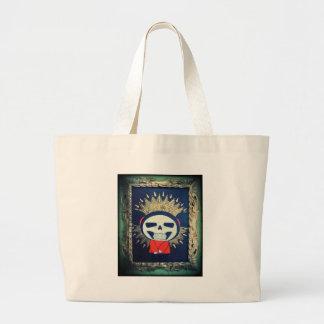 Religious Icon Orthodox Cartoon Painting Jumbo Tote Bag