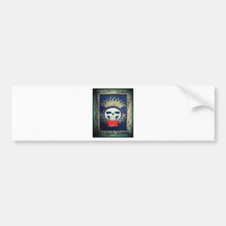 Religious Icon Orthodox Cartoon Painting Bumper Sticker