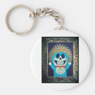Religious Icon Orthodox Cartoon Painting Keychain