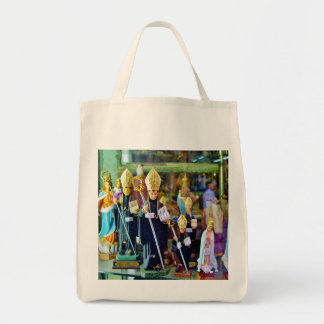 RELIGIOUS ICONS IN LISBON Grocery Tote Bag