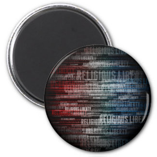 Religious Liberty 2 Inch Round Magnet