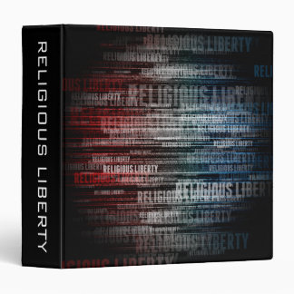 Religious Liberty 3 Ring Binder