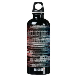 Religious Liberty Aluminum Water Bottle
